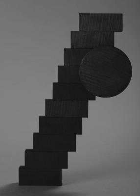 Bez tytułu #4 z serii Magnetic Sculptures (ed. 1/3 + 2AP)