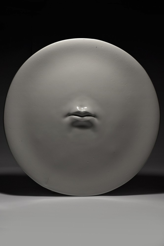 Lips I from the On the Emptiness of Fame and the Fleeting Taste of Wild Strawberries series