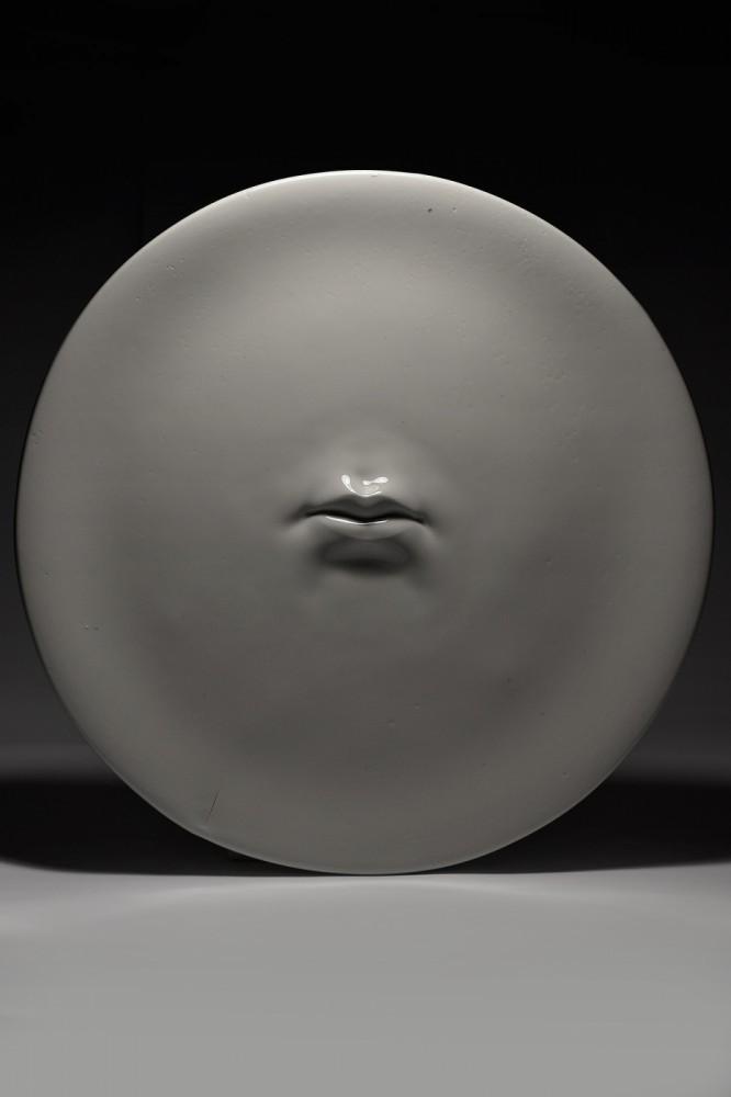 Usta I z serii O próżnej sławie i ulotnym smaku truskawki lub poziomki