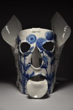 Mask of Shame IX from the On the Emptiness of Fame and the Fleeting Taste of Wild Strawberries series